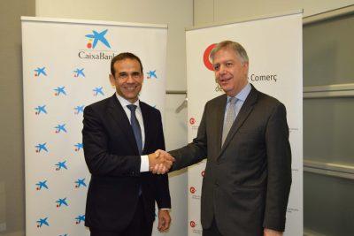 CaixaBank i la Cambra de Comerç col·laboraran per dinamitzar les empreses del Bages