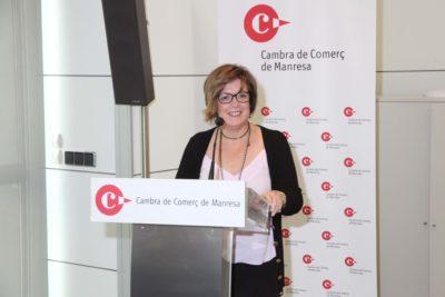 Sílvia Gratacòs és escollida presidenta de la Cambra de Comerç de Manresa