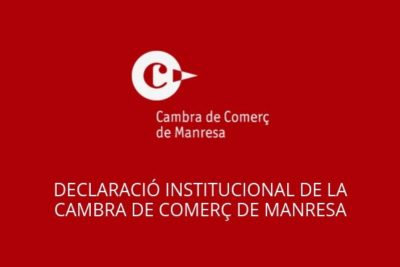 Declaració institucional del Consell de Presidents del Consell General de Cambres de Catalunya
