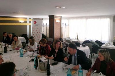 La Cambra promou una trobada entre la consellera Àngels Chacón i empreses del territori